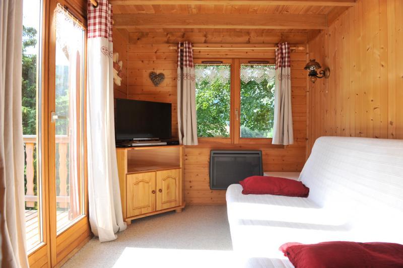 Wohnzimmer Mietobjekt Chalet 94127 Gérardmer
