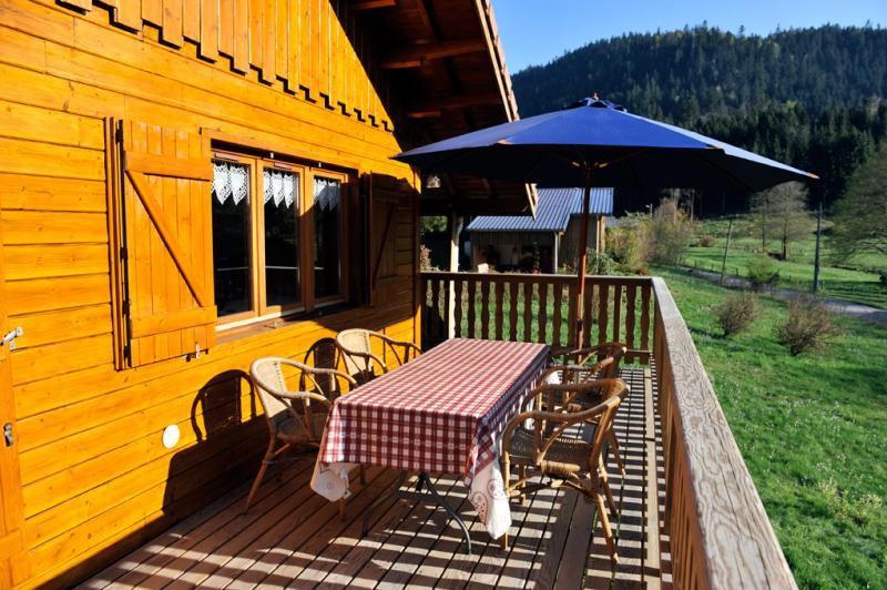 Balkon Mietobjekt Chalet 94127 Gérardmer