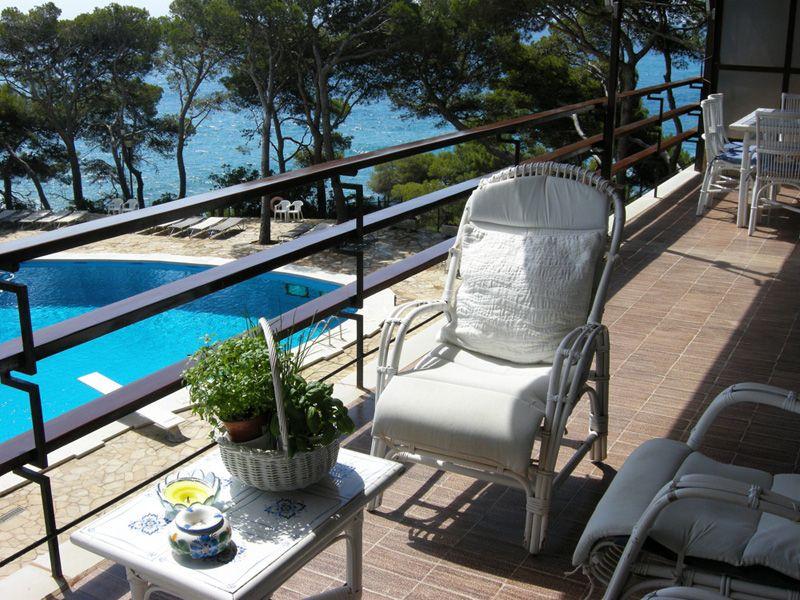 Terrasse Mietobjekt Appartement 98168 Sant Antoni de Calonge