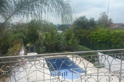 Ausblick vom Balkon Mietobjekt Villa 100525 Mohammedia
