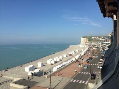 Ausblick aus der Ferienunterkunft Mietobjekt Appartement 101113 Mers Les bains