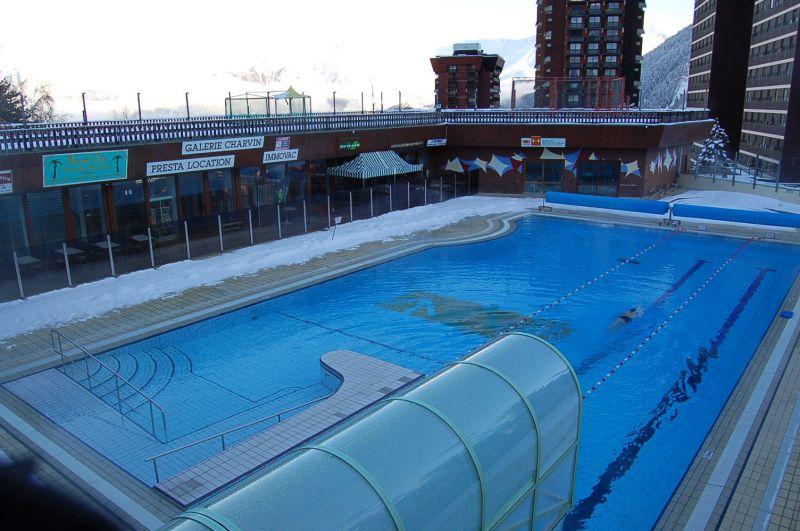 Schwimmbad Mietobjekt Studio 106438 Le Corbier