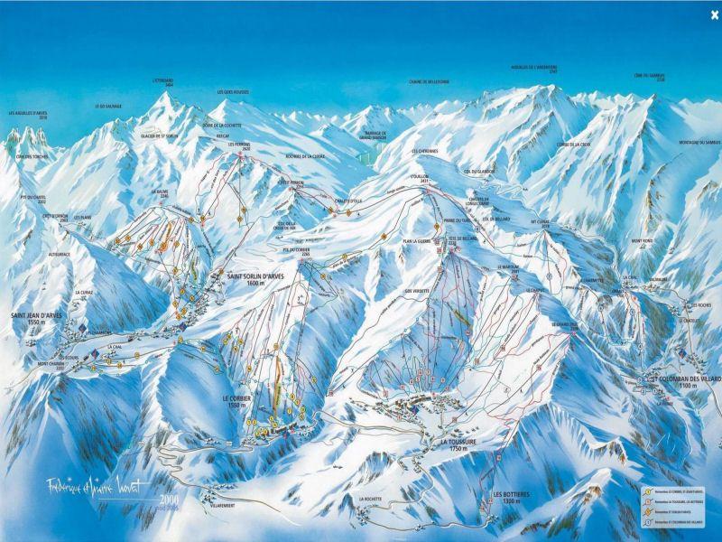 andere Mietobjekt Studio 106438 Le Corbier