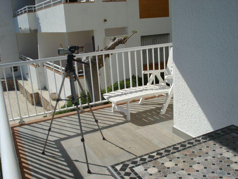 Terrasse Mietobjekt Appartement 109610 Rosas