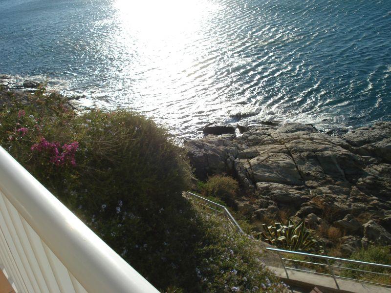 Ausblick von der Terrasse Mietobjekt Appartement 109610 Rosas