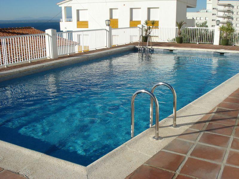 Schwimmbad Mietobjekt Appartement 109610 Rosas