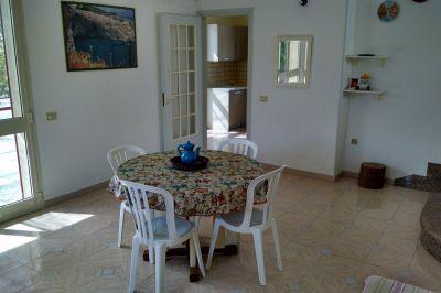 Esszimmer Mietobjekt Villa 114060 Torre Vado