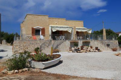 Ausblick aus der Ferienunterkunft Mietobjekt Villa 74745 Torre Vado