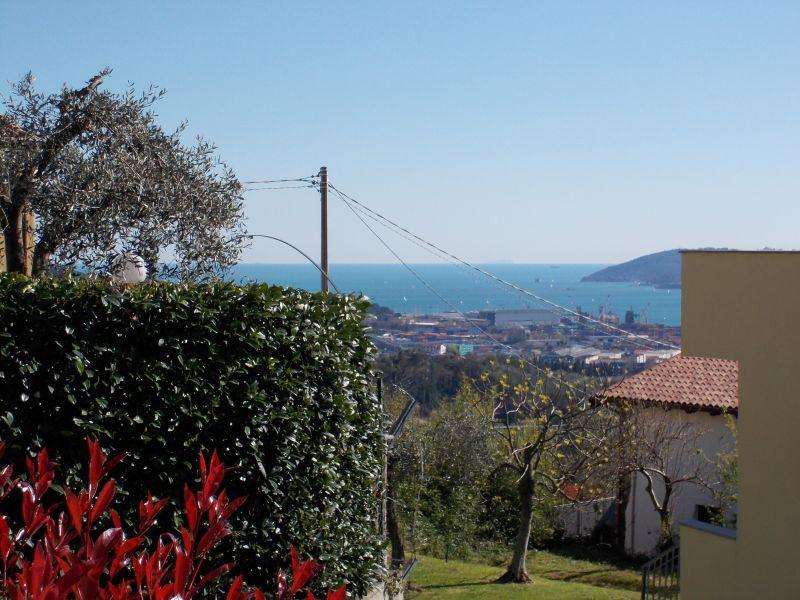 Ausblick von der Terrasse Mietobjekt Appartement 79780 La Spezia