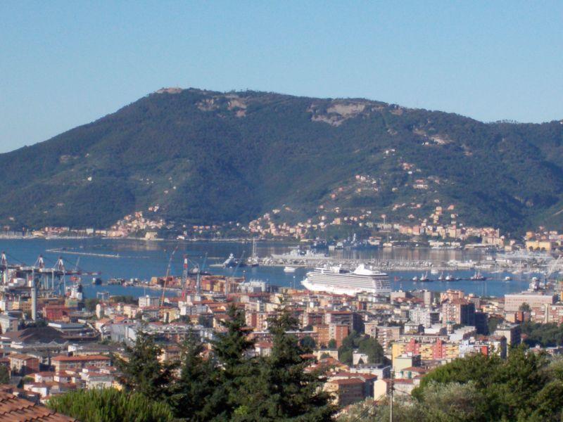 Ausblick aus der Ferienunterkunft Mietobjekt Appartement 79780 La Spezia