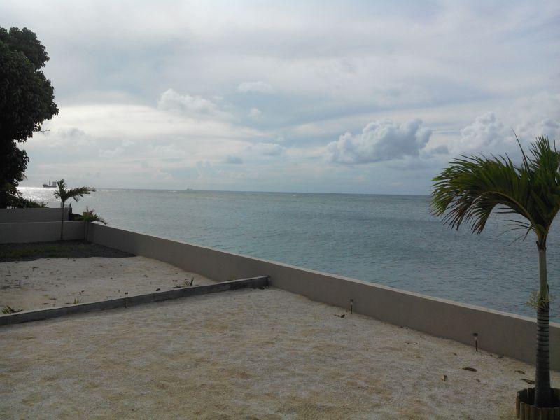 Ausblick aus der Ferienunterkunft Mietobjekt Villa 86489 Baie du tombeau