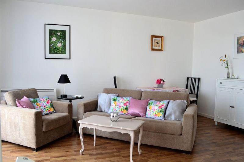 Wohnzimmer Mietobjekt Appartement 92716 Vichy