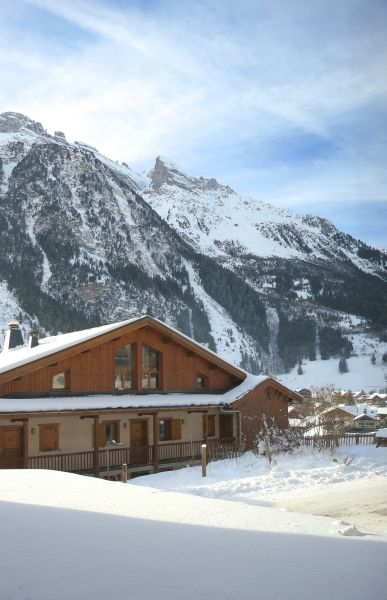 Ausblick von der Terrasse Mietobjekt Appartement 93265 Pralognan la Vanoise