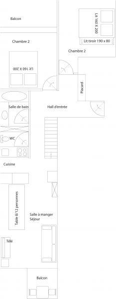 Mietobjekt Appartement 107171 Tignes