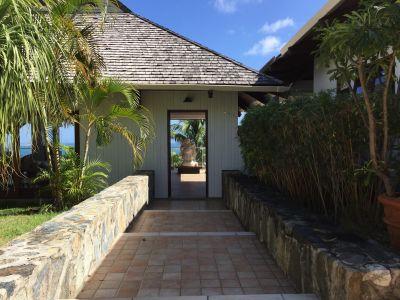 Ausblick aus der Ferienunterkunft Mietobjekt Ferienunterkunft auf dem Land 108551 Orient Beach