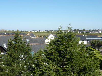 Ausblick vom Balkon Mietobjekt Studio 111006 Carnac