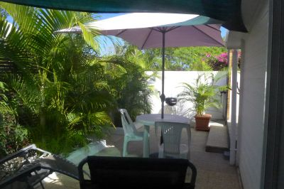 Garten Mietobjekt Appartement 112063 La Saline les Bains