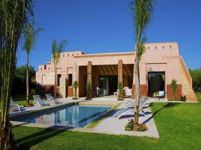 Ansicht des Objektes Mietobjekt Villa 115912 Marrakesch