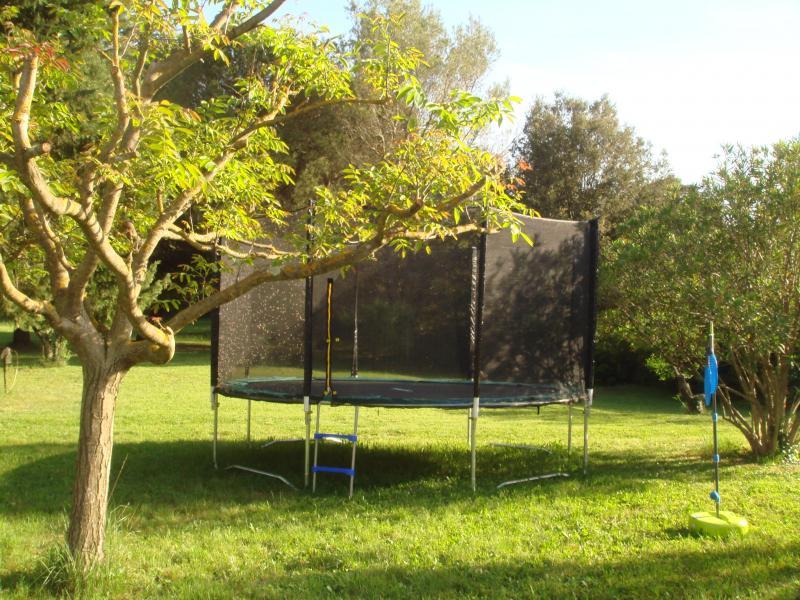 Garten Mietobjekt Ferienunterkunft auf dem Land 69702 Uzès