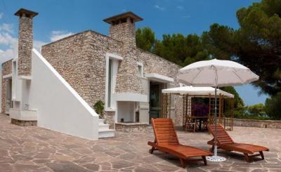 Garten Mietobjekt Villa 84689 Marina di Novaglie