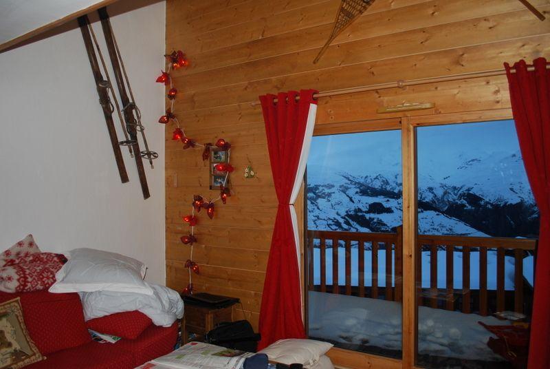 Ausblick aus der Ferienunterkunft Mietobjekt Appartement 101056 Les Arcs