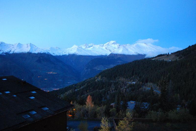 Ausblick vom Balkon Mietobjekt Appartement 101056 Les Arcs