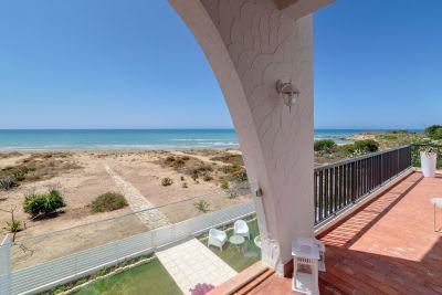 Ausblick aus der Ferienunterkunft Mietobjekt Villa 116102 Punta Secca