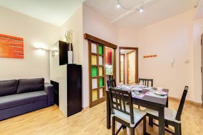 Wohnzimmer Mietobjekt Appartement 66900 Rom