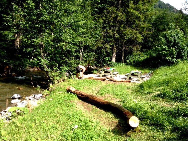 Ausblick aus der Ferienunterkunft Mietobjekt Chalet 73656 Châtel