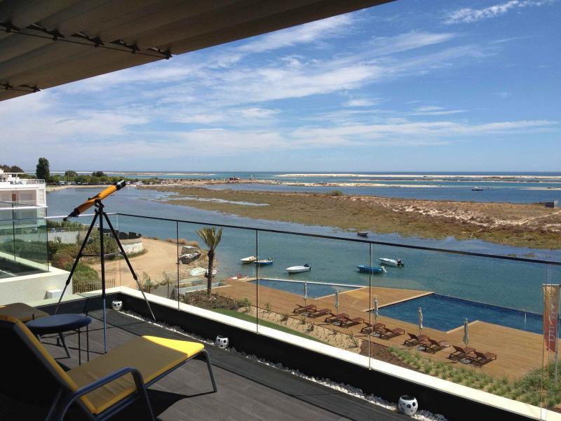 Ausblick von der Terrasse Mietobjekt Appartement 74598 Olhão