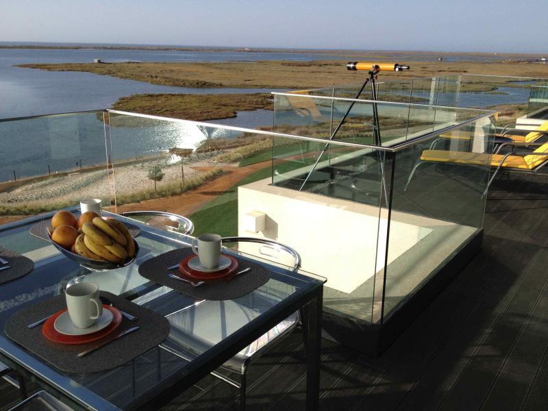 Terrasse Mietobjekt Appartement 74598 Olhão