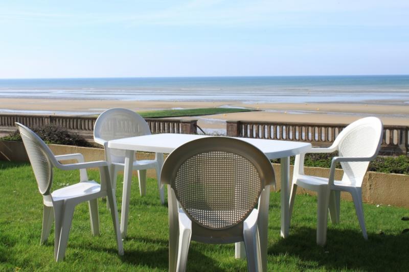 Ausblick aus der Ferienunterkunft Mietobjekt Appartement 76183 Cabourg