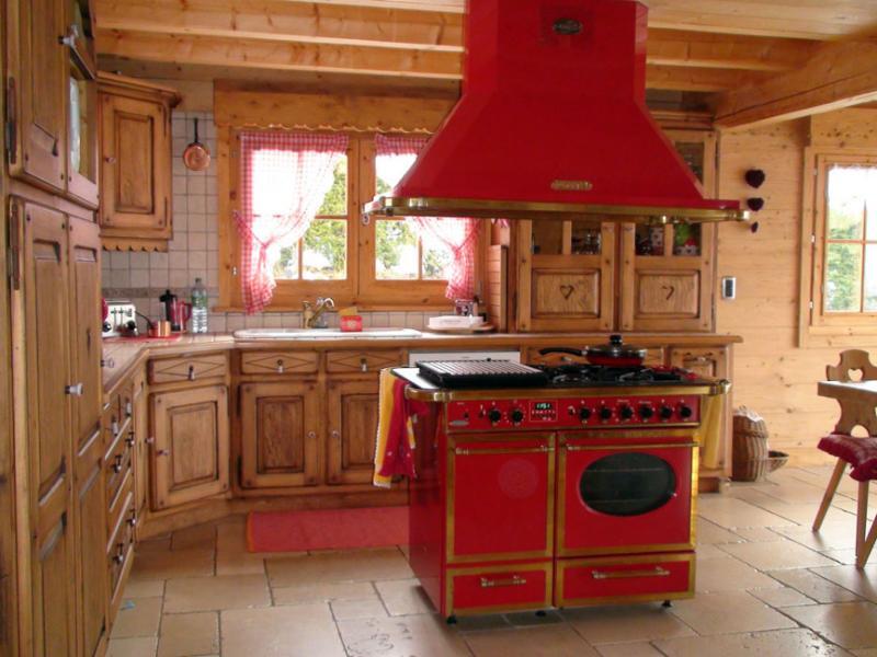 offene Küche Mietobjekt Chalet 80673 Saint-Gervais-les-Bains