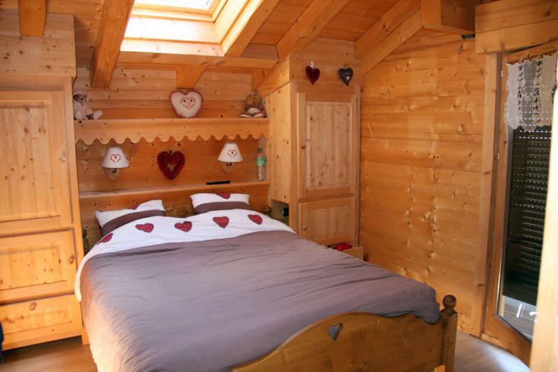 Schlafzimmer 1 Mietobjekt Chalet 80673 Saint-Gervais-les-Bains