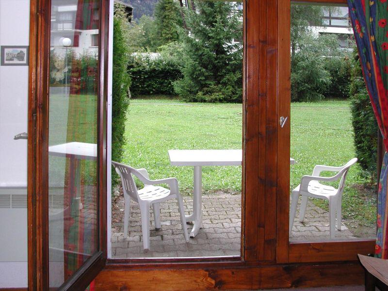 Terrasse Mietobjekt Appartement 81787 Les Contamines Montjoie