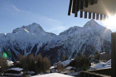 Ausblick von der Terrasse Mietobjekt Appartement 91727 Les 2 Alpes