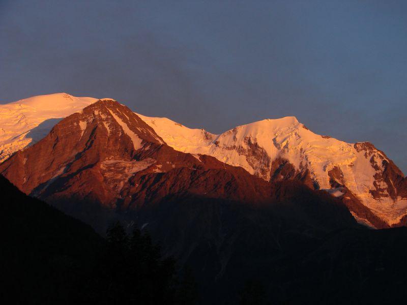 Ausblick vom Balkon Mietobjekt Studio 93266 Chamonix Mont-Blanc