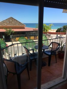 Ausblick vom Balkon Mietobjekt Appartement 96534 Praia da Rocha