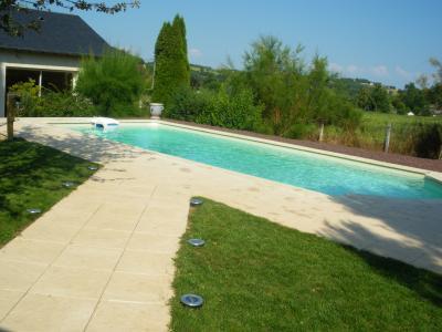 Schwimmbad Mietobjekt Villa 97426 Brive-la-Gaillarde