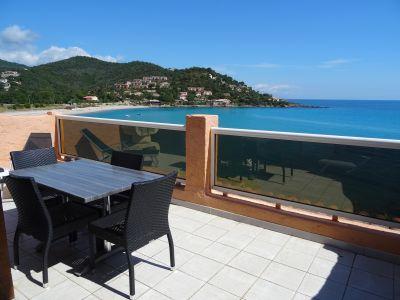 Ausblick von der Terrasse Mietobjekt Studio 108328 Sari-Solenzara