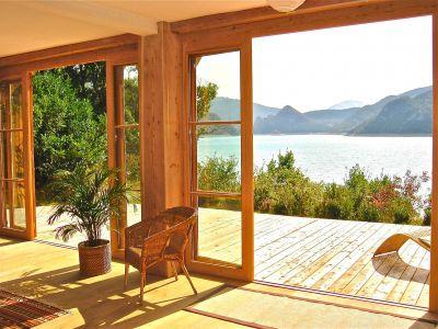 Ausblick aus der Ferienunterkunft Mietobjekt Ferienunterkunft auf dem Land 116875 Castellane