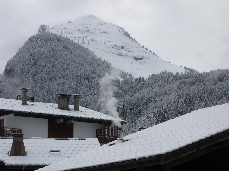Ausblick aus der Ferienunterkunft Mietobjekt Appartement 66830 Morzine
