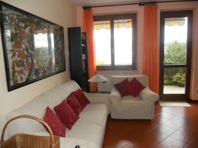 Ausblick von der Terrasse Mietobjekt Appartement 78682 Riva di Solto