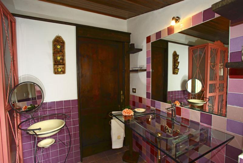 Badezimmer 1 Mietobjekt Ferienunterkunft auf dem Land 80622 Gavorrano