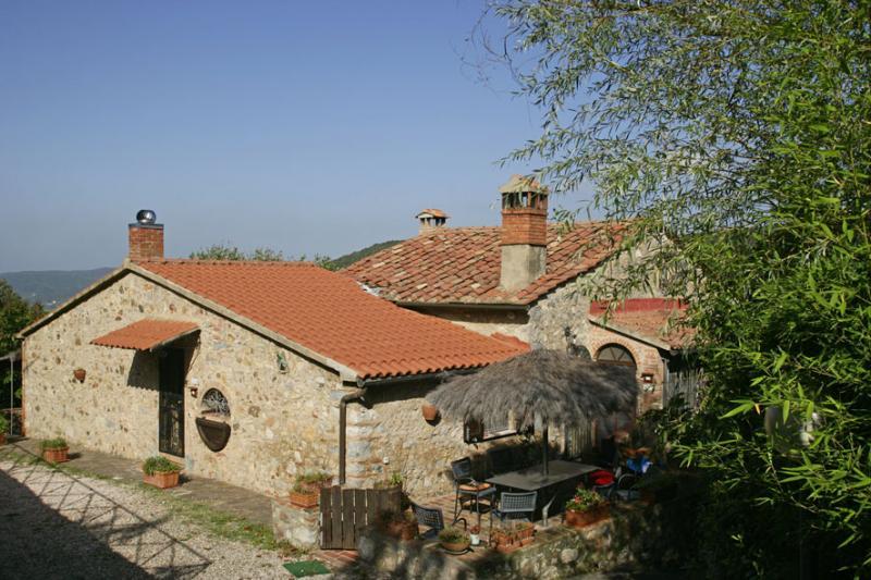 Eingang Mietobjekt Ferienunterkunft auf dem Land 80622 Gavorrano
