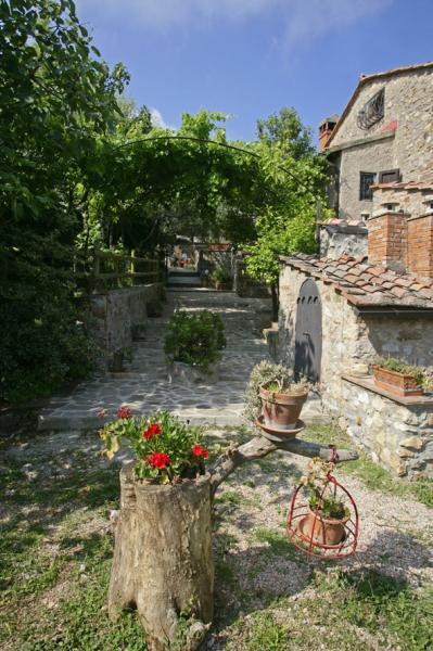 Ausblick von der Terrasse Mietobjekt Ferienunterkunft auf dem Land 80622 Gavorrano