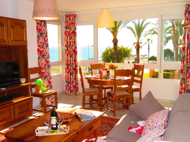 Wohnzimmer Mietobjekt Appartement 84780 Nerja