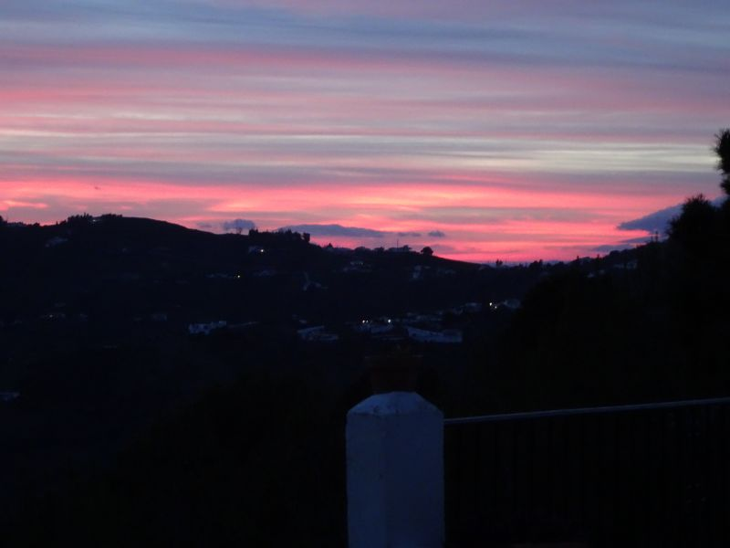 Ausblick von der Terrasse Mietobjekt Villa 88509 Torrox