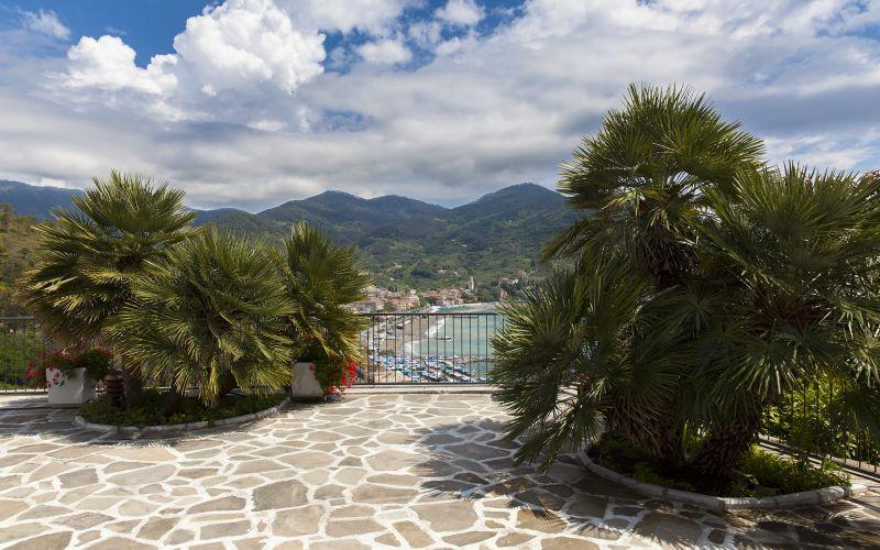 Ausblick von der Terrasse Mietobjekt Villa 100451 Levanto