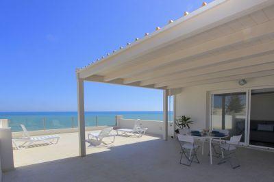 Terrasse Mietobjekt Appartement 102671 Donnalucata